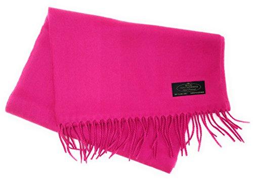 Pink 100% Wool - 1