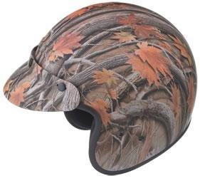 - GMax GM2 Leaf Camo Open Face Helmet - X-Large