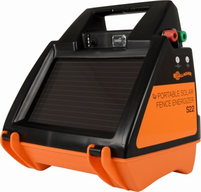 Gallagher North America G344414 Solar Fence Charger, S22,...