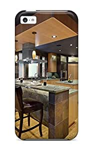 New Premium Jaime Olvera Slate And Seafoam Granite Raised Eating Bar In Kitchen Skin Case Cover Perfect Fitted For Iphone 5c
