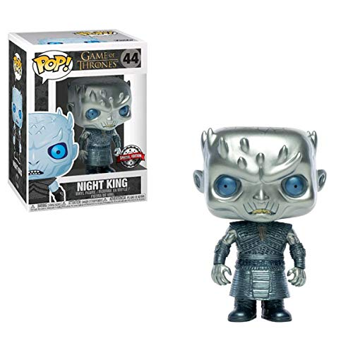 Game Of Thrones Juego de Tronos Funko Pop Metallic Night King # 44 Exclusivo