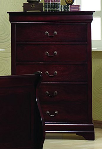 Coaster Home Furnishings 203975 Traditional Chest, Cherry - Cherry Traditional Dresser
