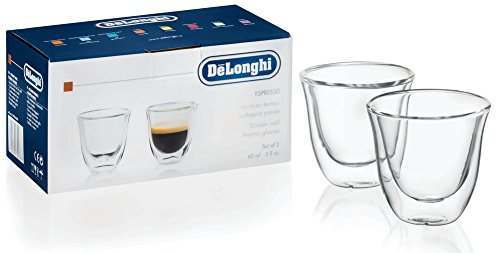 DeLonghi Double Walled Thermo Espresso Glasses, Set of 2 by DeLonghi (Image #2)