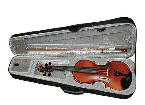Amazon.com: MAVK34 3/4 Tamaño antiguo raso violín con ...