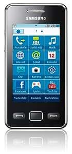 """Samsung Star II (S5260) - Móvil libre (pantalla táctil de 3"""", cámara 3 Mp, S.O. Samsung), negro"""
