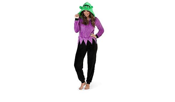 Loungeable Boutique - Pijama de una pieza - para mujer: Amazon.es: Ropa y accesorios