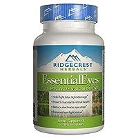 Ridgecrest Herbals Essential Eyes, 120 Vegetarian Capsules