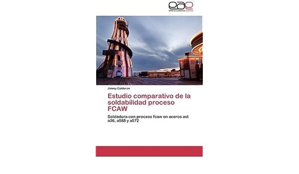 Amazon.com: Estudio comparativo de la soldabilidad proceso FCAW: Soldadura con proceso fcaw en aceros ast a36, a588 y a572 (Spanish Edition) ...