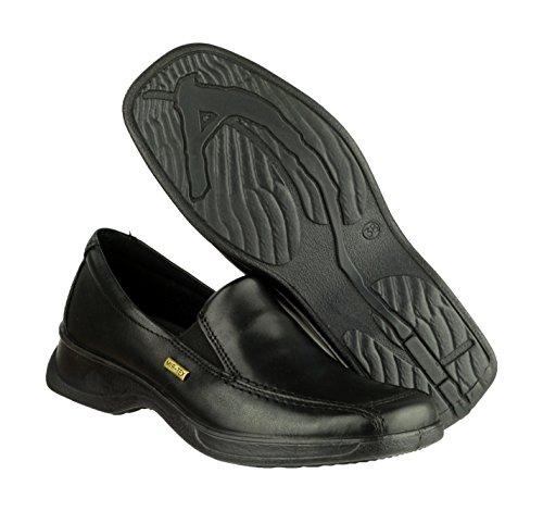 Cotswold Slip-On Textile Lined Ladies Shoes - Black - Size 3 4 5 6 7 8 Black
