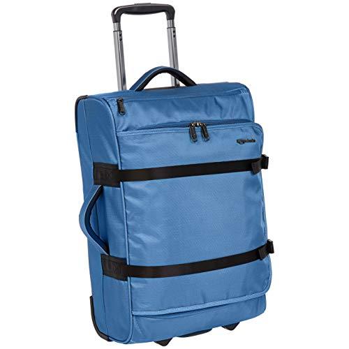AmazonBasics Francis Wheeled Duffel, Blue ()