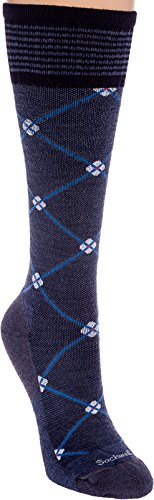 Sockwell Women's Elevation 20-30mmHg Compression Socks (Denim, M/L)