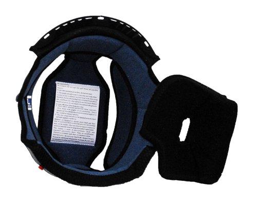 Raptor Junior Off Road Helmet Liner (Blue/Black, Small)