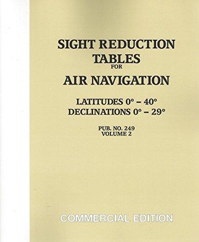 Sight Reduction Tables for Air Navigation Vol. 2 (pub 249)