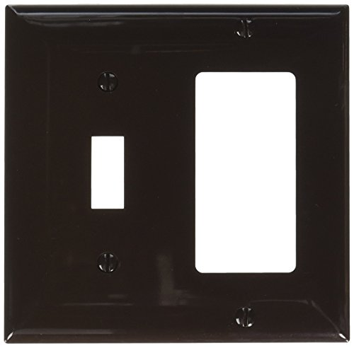 Morris 81242 Lexan Wall Plate, 2 Gang, 1 Toggle, 1 for sale  Delivered anywhere in USA