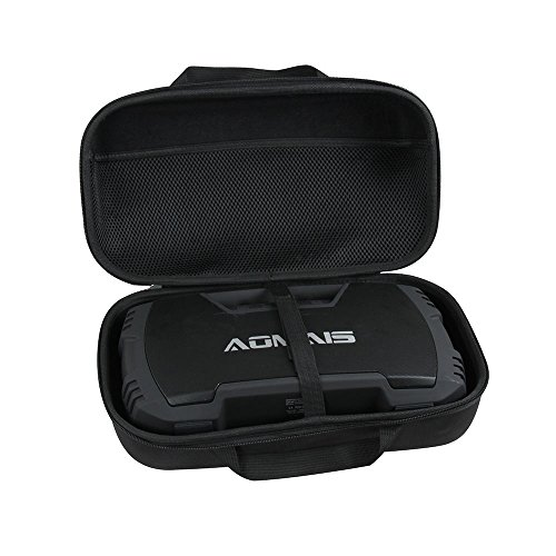 - Hard EVA Travel Black Case for AOMAIS GO Bluetooth Speakers Waterproof Portable Indoor/Outdoor 30W Wireless Stereo Pairing Booming Bass Speaker by Hermitshell