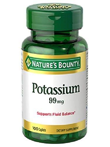 100 Potassium Gluconate 99mg Nature's Bounty Metabolism Health Supplement - Mr Smith Sunglasses