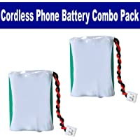 Interstate Batteries TEL0295 Cordless Phone Combo-Pack includes: 2 x BATT-27910 Batteries