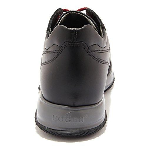 CUCITURA black Hogan uomo 6848U sneaker men INTERACTIVE H shoe Nero UwTwXHq