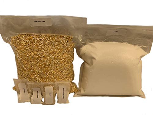 Genuine North Georgia Still Company Complete Corn Whiskey Mash & Fermentation Kit (Best Corn Whiskey Recipe)