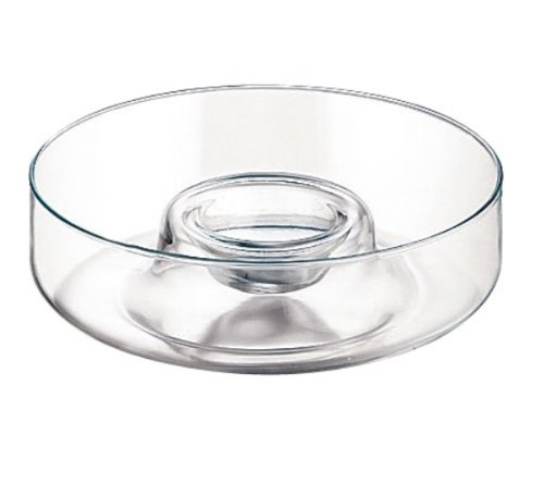 Libbey Selene 1-Piece 11-Inch Diameter Chip and Dip 55683