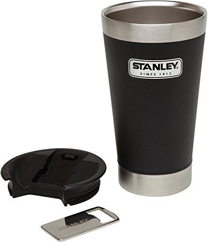 STANLEY(スタンレー) スタッキング真空パイント/タンブラー フタ付き 0.47L ブラック [並行輸入品]   B07969SHVH