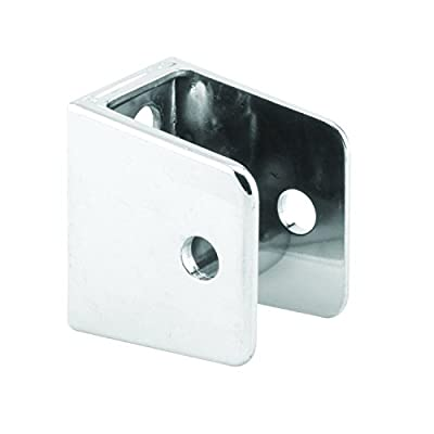 Sentry Supply 650-9384 U Shape Wall Bracket, 3/4 inch x 1 inch, Stainless Steel, Pack of 1
