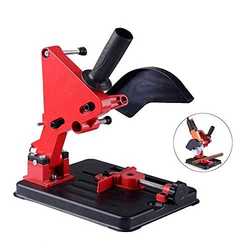 DOMINTY Angle Grinder Stand Angle Grinder bracket Holder Metal Cutting Machine Aluminum body for 100/115/125mm angle (Mount Grinder)