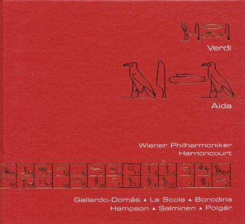 Verdi: Aida - Wiener Philharmoniker / Harnoncourt / Gallardo-Domâs / La Scola / Borodina / Hampson / Salminen / Polgár