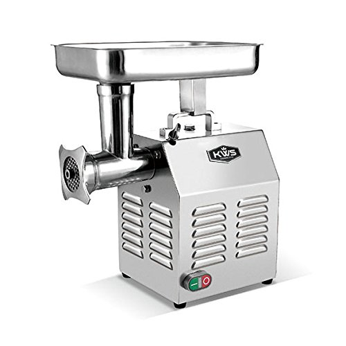 (KWS TC-8 Commercial 550W 0.75HP Electric Meat Grinder Stainless Steel Meat Grinder )