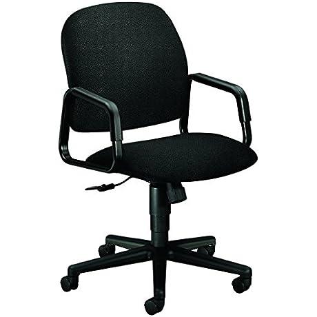 HON 4001AB10T Solutions Seating High Back Swivel Tilt Chair Olefin Black