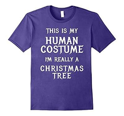 Christmas Tree Halloween Costume Shirt Easy Funny Kids Adult