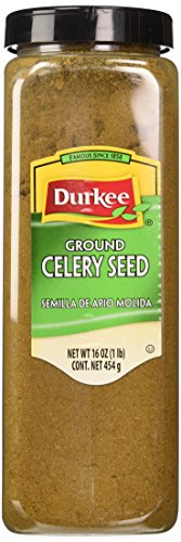 Durkee Celery Seed Ground, 16-Ounce Containers (Pack of 2) (Seed Bottle Oz Ground 16)