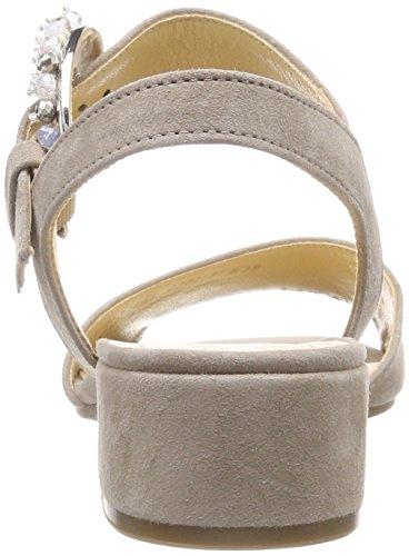 Gabor Fashion, Sandali con Cinturino alla Caviglia Donna Marrone (Visone)
