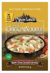 Shore Lunch Mix Soup Chicken Noodle Classic, 4.9 oz