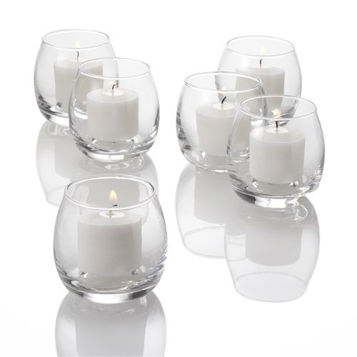 (Eastland Petite Hurricane Votive Holders Clear Set of 36)