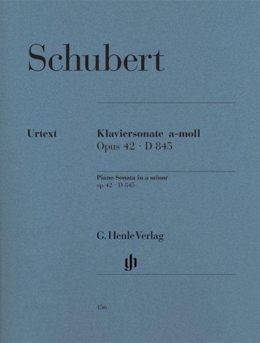 Klaviersonate a-moll op. 42 D 845