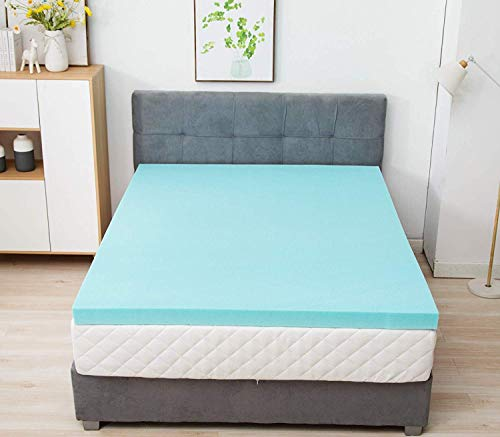 Mecor 4 Inch Gel Infused Memory Foam Mattress Topper