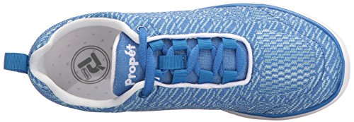 Walking Women's Propet Shoe TravelFit White Pro Blue pa4tBwqx