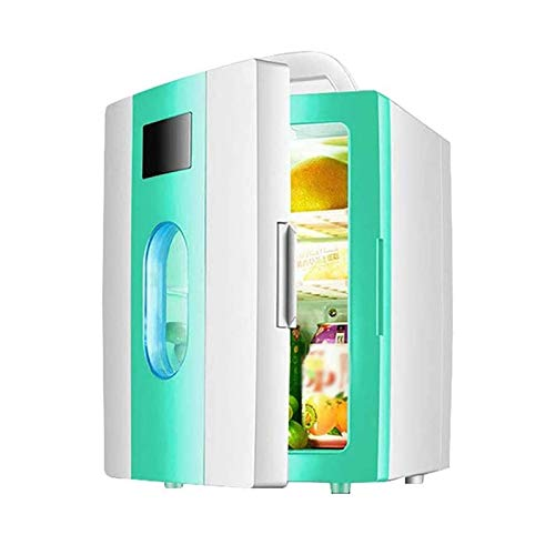 Skincare Fridge for Bedroom, 10L Car Electronic Cold And Warm Refrigerator, Dual-Use Refrigerated Mini Cosmetics…