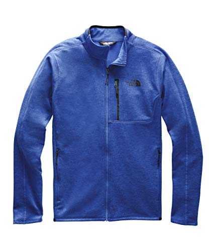 (The North Face Men's Canyonlands Full Zip, TNF Blue Heather, M)
