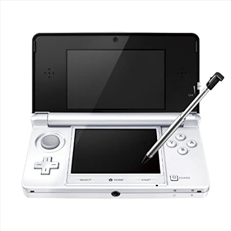 Nintendo 3DS Console – Ice White Japanese Imported Version – only plays Japanese version games