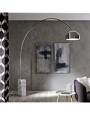 Luumos la lampada con base in marmo