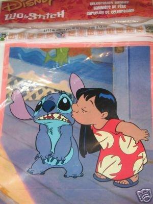Lilo & Stitch Birthday Banner -