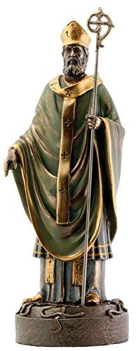 - Saint Patrick Bronze Religious Christian Catholic Statue