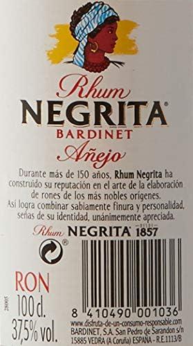 Bardinet Rhum Negrita, 1L: Amazon.es: Alimentación y bebidas