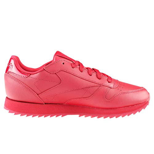 Reebok Cl Cranberry Shoes Lthr Ripple Red Cranberry Red Gymnastics Women's Red waq0r5wH