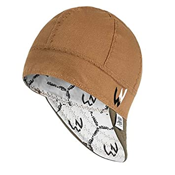 8 panel Welding Cap 7 1//2, Black durable Welder Nation STICK ARC for safety and protection while welding soft 10 oz cotton duck canvas