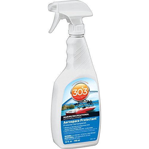 303 (30306) Marine Aerospace Protectant, UV Protectant for Boats and Patio Furniture, 32 fl. - Cleaning Window Formula
