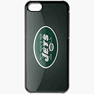 Personalized iPhone 5C Cell phone Case/Cover Skin 1363 new york jets Black