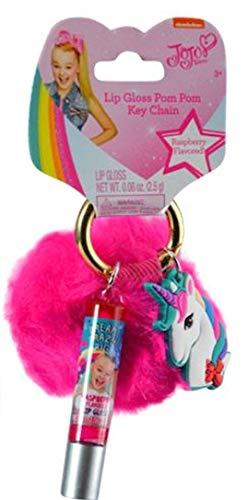 JoJo Siwa Lip Gloss & Fur Ball Keychain on Card-SHOE (HOUSE) from JoJo Siwa
